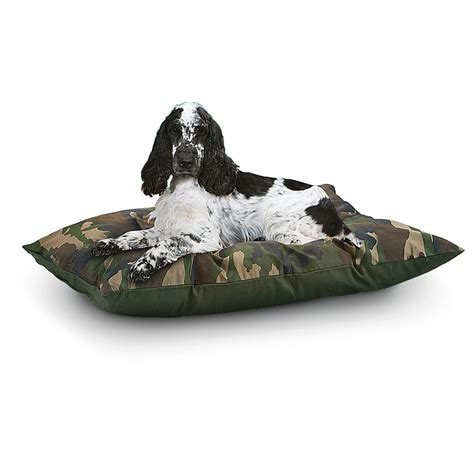 camouflage dog bed 2 pk camo dog beds 167304 kennels beds at