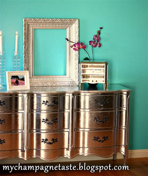 Silver Leaf Furniture chagne taste how to silver leaf furniture