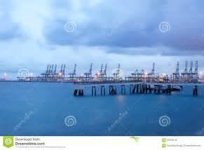 porto singapore porto industriale contenitore porto a singapore