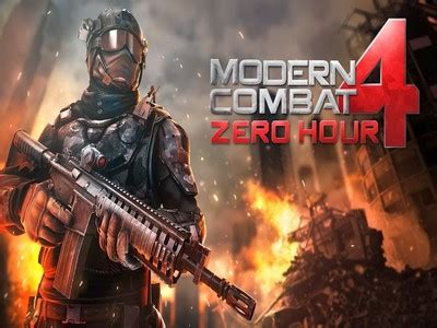 modern combat 4 apk full version sd files modern combat 4 zero hour mod apk free download