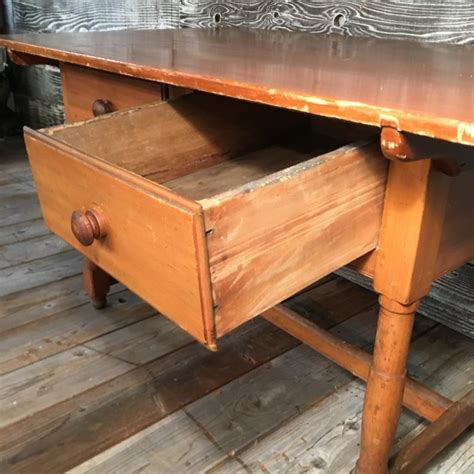 farmhouse kitchen table with drawers farmhouse kitchen table with drawers two drawer pine farmhouse kitchen table gilboy s two