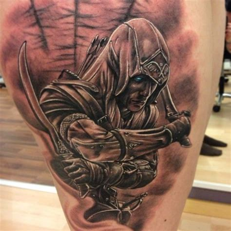 tattoo assassins ac assassins creed archer tattoo on lower arm ideas tattoo
