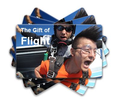 Summerfest Gift Cards - skydive chicago setting the standard