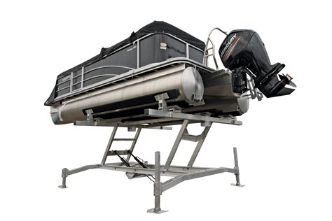 pontoon lift hydraulic boat lifts battery powered boat lifts r j