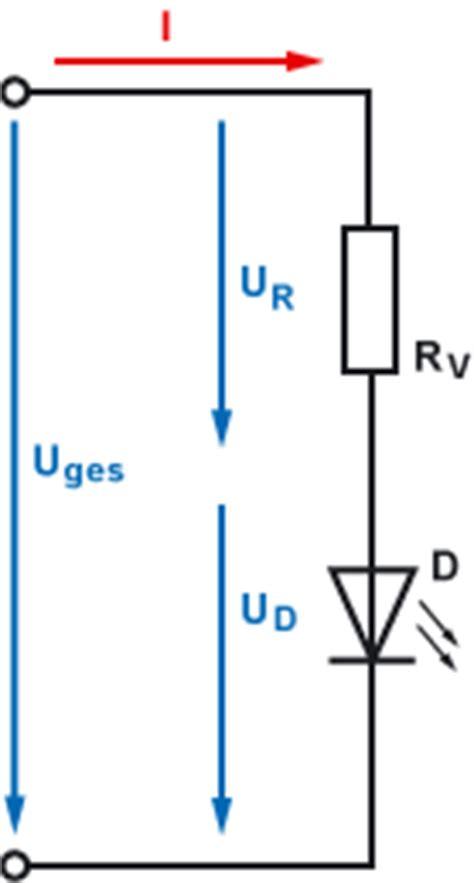 led diode vorwiderstand vorwiderstand f 252 r led berechnen