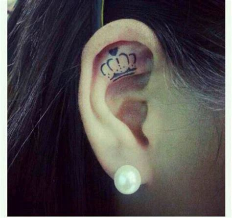crown tattoo ink beauty tattoo love keep calm and get
