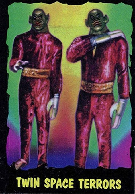 Gift Card Limit - 1964 topps monsters from outer limits trading cards checklist info