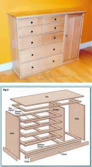 bedroom furniture building plans 25 best ideas about pallet dresser on pinterest