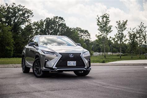 lexus silver 2017 review 2017 lexus rx 350 f sport canadian auto review