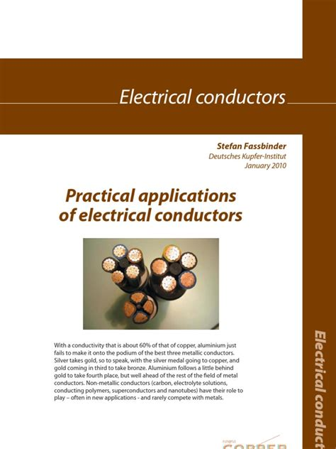 non metallic electrical conductors practical applications of electrical conductors