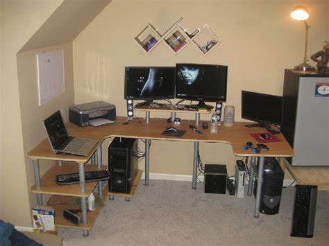 U Shaped Gaming Desk Coolest And Best Computer Gaming Desk Designs Atzine