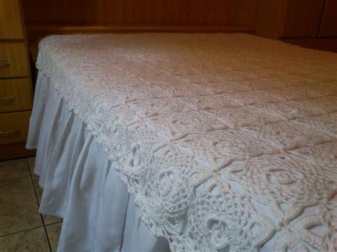 colcha croche mercadolivre colcha de croch 234 de casal feita com linha e perolas r