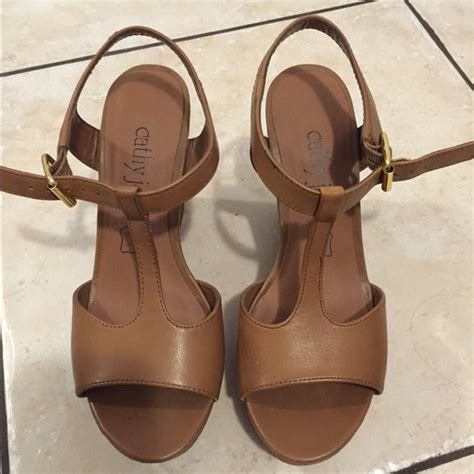 light brown wedge heels 50 cathy jean shoes light brown wedges from carol s