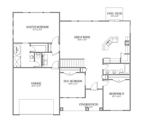 Easy Floor Plans Simple House Plans Cottage House Plans
