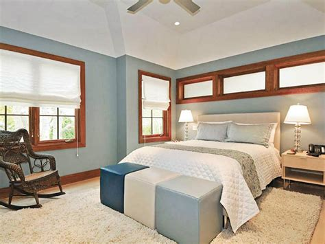 Bedroom Paint Ideas With Wood Trim Simply White Shades Hgtv