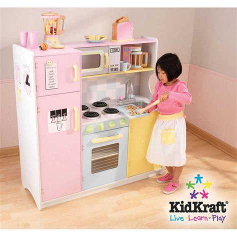 cuisine enfant fille cuisine en bois pour enfant pastel en bois 107x cuisine