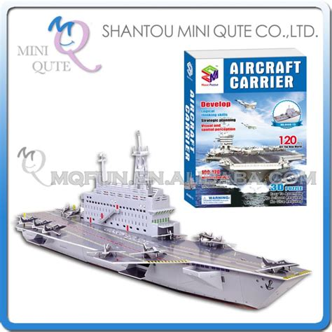 How To Make A Paper Aircraft Carrier - mini qute aircraft carrier building 3d paper puzzle diy