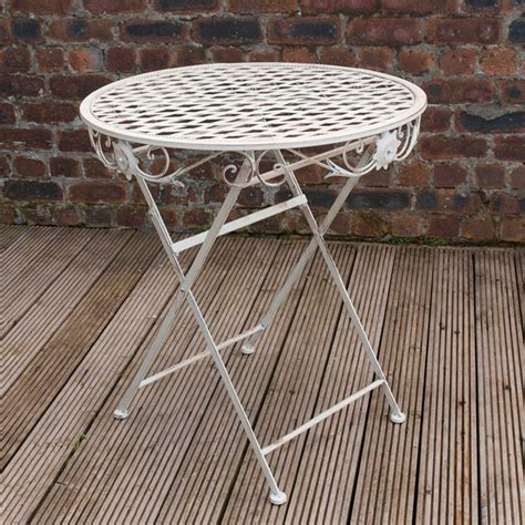 Patio Table Ls Ellister Gibralter 70cm Bistro Table On Sale Fast Delivery Greenfingers