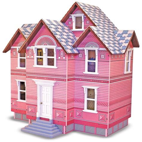 melissa and doug doll houses melissa and doug 174 victorian dollhouse 147107 toys at sportsman s guide