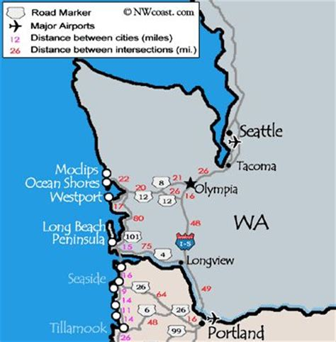 map of oregon and washington coast best ideas about coast nw coast trip and map oregon on