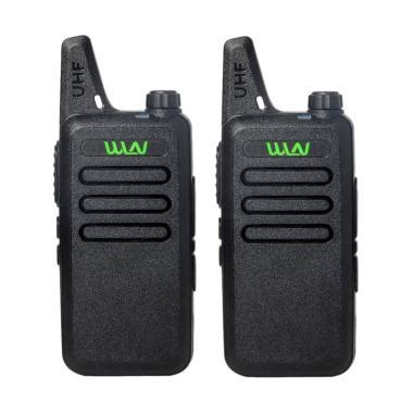 Tas Pinggang Walkie Talkie Tas Tour jual panzer ht walkie talkie wln two way radio hitam 2 pcs harga kualitas
