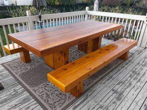 cedar table top cedar table top split how should i repair by