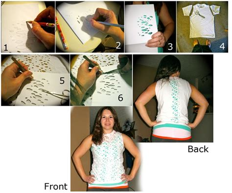 36 Best Images About Cut Up Shirt Ideas On Pinterest T Shirts Old Tee Shirts And Design Diy T Shirt Design Template