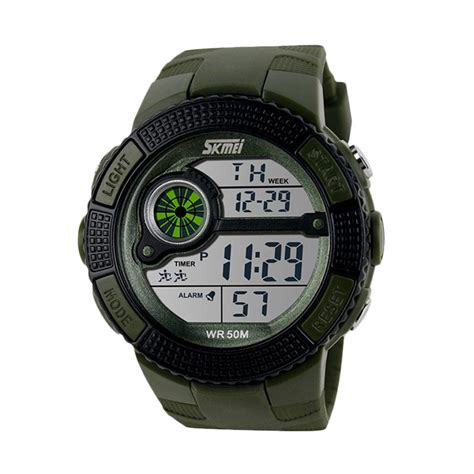 Jam Tangan Pria Original Skmei Sporty Turbo Water Resistent jual daily deals skmei original sporty water