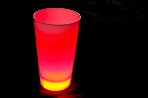 Led Light Up Drinking Cup Eternity Led Cup Lights