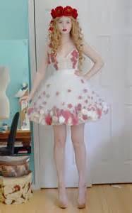 Flower Dress Costume Diaphanous Flower Dresses Angela Clayton S Costumery