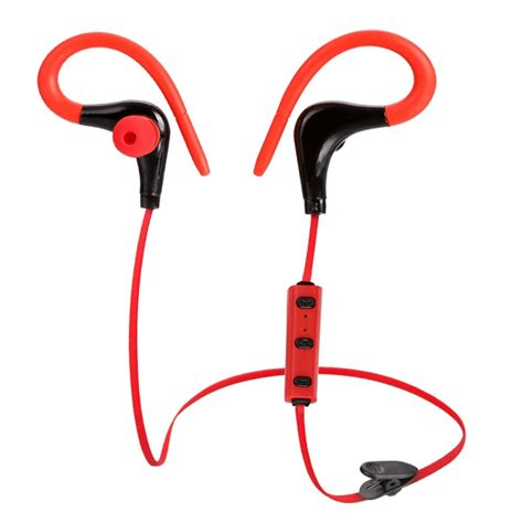 Headset Bluetooth Unique unique clip on design stereo wireless bluetooth headset 4 1 fashion sport stereo earphone