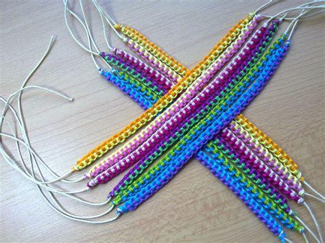 Make Macramé Cord Bracelet Patterns Home - friendship bracelet pack 7 bracelets micro macrame made