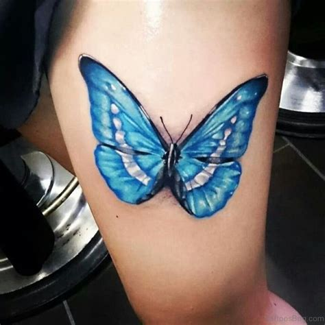 pretty butterfly tattoos  thigh