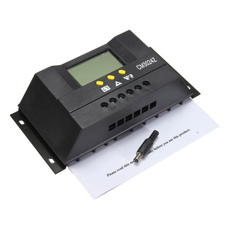 solar 360 battery charger 30a 12v 24v 360w 720w adjustable solar regulator battery