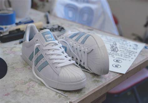 Sepatu Adidas Superstar White Blue sepatu adidas superstar vulc 2018 rilisan kolaborasi