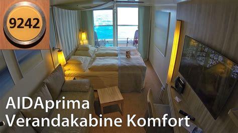 aidaprima verandakabine komfort 4 personen aidaprima verandakabine komfort mit 2 b 228 dern rundgang
