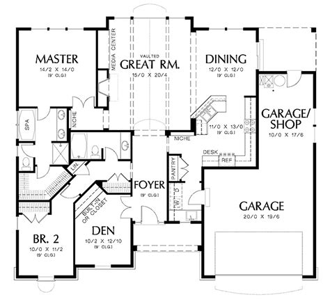 simple open floor house plans architecture software for floor plan planner design
