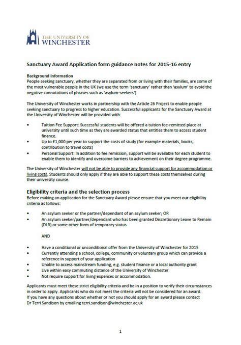 Scholarship Essay Exles Uk Sle Essay For Scholarship Application