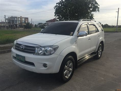 toyota cars for toyota fortuner 2009 car for sale central luzon philippines