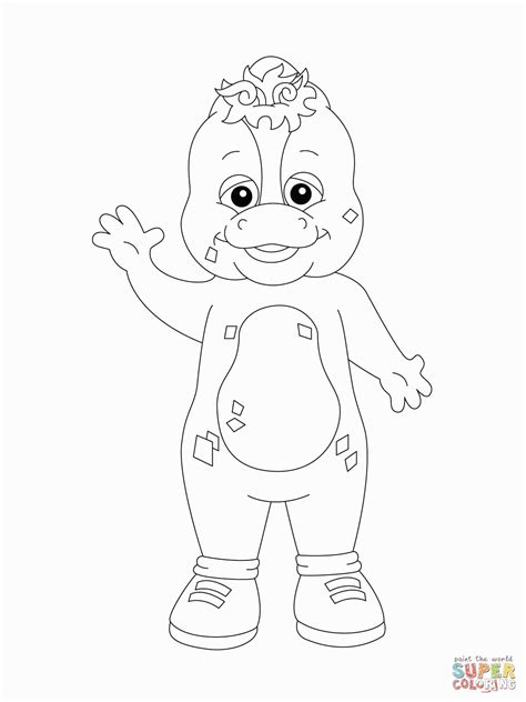 barney coloring pages pdf barney happy birthday coloring pages barney coloring pages