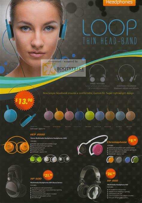Headset Sonic Gear Hs Loop Ii X Warna Stok the headphones gallery sonicgear headset hep 2000