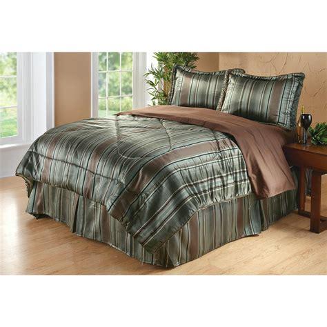 stripe comforter set divatex 174 jacquard stripe comforter set 184811