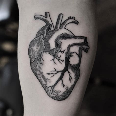 heart tattoos tumblr another beautifully crated blackwork by chris jones