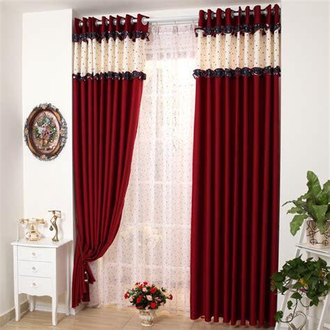 black and red bedroom curtains أحدث وأفضل صور ديكورات ستائر غرف النوم المودرن دزاير بلوج