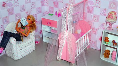 How To Make Baby Crib by How To Make A Baby Crib Cot Part 1 For Doll
