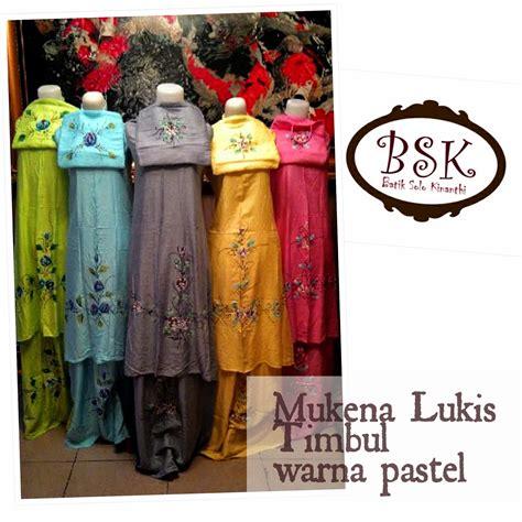 Mukena Pastel Batik mukena batik batik kinanthi