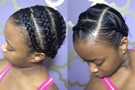 how to under braid how to braid your hair under a wig video black hair