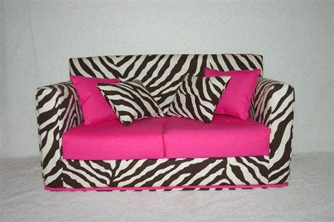 zebra sofa reserved listing for stevi doll sofa black zebra print