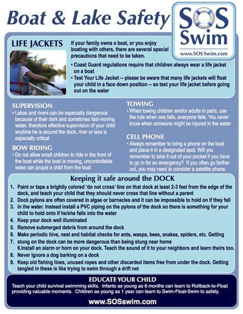 boat safety ohio boat lake safety tips please share www sosswim