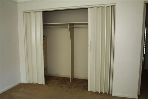 accordion doors for closets accordion closet doors how to install bifold closet doors